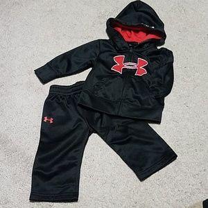 UA Fleece Hoodie and Pants set